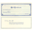 14910 - GC - GIFT CERTIFICATE
