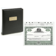 Ohio Profit Corporation Record Book With 12 Stock Certificates