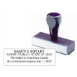 81100 - WOOD HANDLE NOTARY STAMP (REGULAR NOTARY)