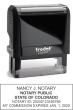 81140CON - COLORADO DESK STYLE SELF-INKING NOTARY STAMP
