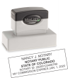 COLORADO MAXLIGHT PRE-INKED NOTARY STAMP