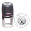 81445 - IDEAL 400R SELF INKING NOTARY SEAL (STAMP)