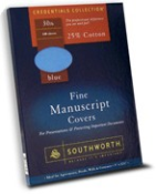 LEGAL SIZE MANUSCRIPT COVERS (BLUE BACKS)
