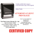 I4914 - i4914 - Custom Self-Inking Stamp