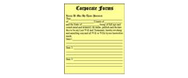 Corporate Forms