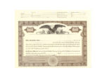 8 1/2 X 11, Brown, Limited Liability Certificate