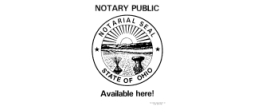 81156 - LARGE NOTARY PUBLIC SIGN, SIZE 8 1/2 X 11