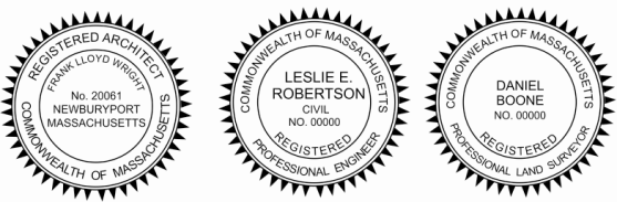 Maine Engineer, Architect, Surveyor Embossing Seals and Stamps made for all 50 states.  Order ships next business day!    If you have questions about our products, please contact us at (216) 281-7792.  (M-F 9am to 5pm) We welcome your call!