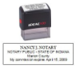 81130IN - IDEAL SELF-INKING NOTARY STAMP
