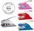 81015IN - PERSONALIZED HAND HELD INDIANA NOTARY SEAL (EMBOSSER)