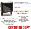 I4914 - i4914 - Custom Self-Inking Stamp