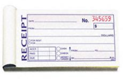 46820 - TOPS RENT RECEIPT BOOK