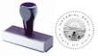 81011 - WOOD HANDLE NOTARY SEAL (STAMP)
