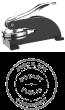 81014CTN - 81014CTN - DESK STYLE CONNECTICUT NOTARY SEAL (EMBOSSER)