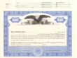 8 1/2 X 11, Blue, Limited Liability Company Certificate