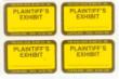 PS- - PLAINTIFF EXHIBIT STICKERS