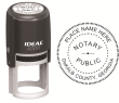 81445GAN - IDEAL 400R SELF INKING NOTARY SEAL (ROUND STAMP)