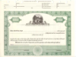 Green Ohio Seal Stock Certificate, 8 1/2 x 11.