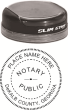 81153GAN - GEORGIA CIRCULAR STYLE COMBO STAMP AND SEAL (STAMP)