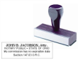 81105 - WOOD HANDLE NOTARY STAMP (ATTORNEY)
